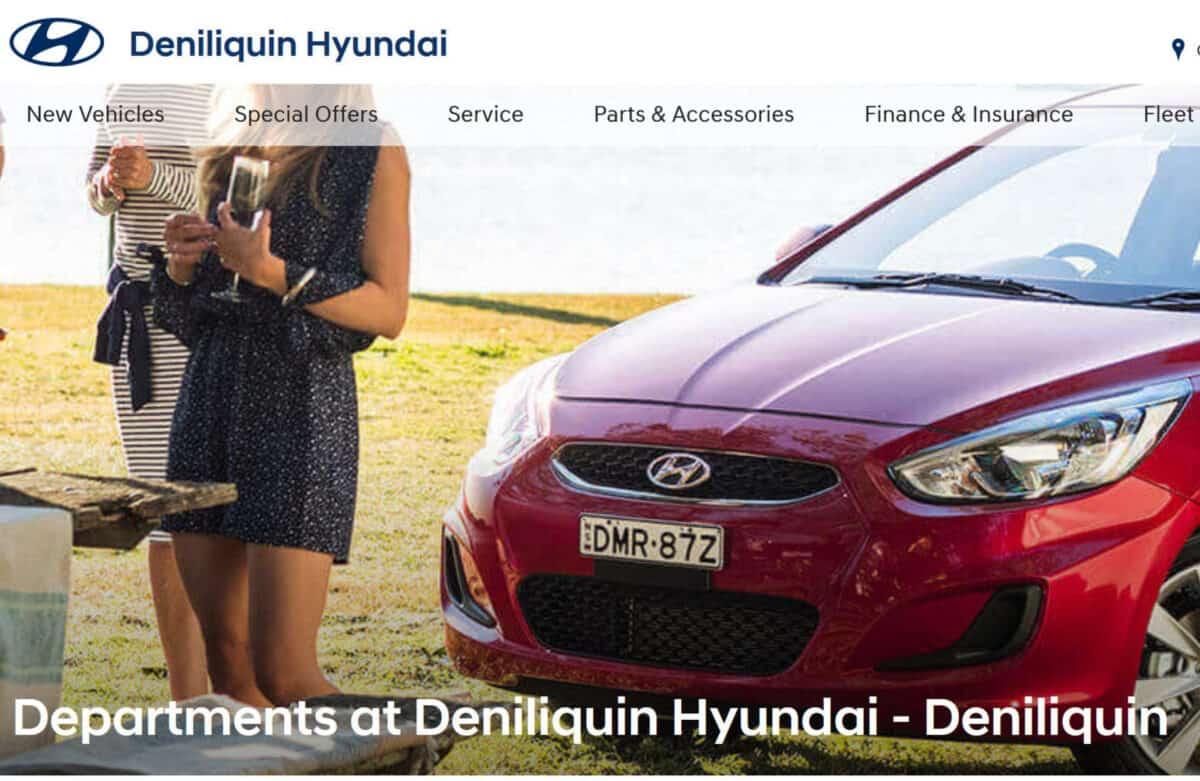 hyundai dealer in deniliquin, new south wales 47-57 davidson st, deniliquin nsw 2170 car dealer near me